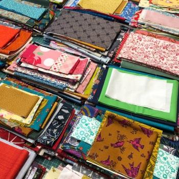 Fabric Scraps Bags