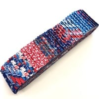 Quilter's Pre-cut 40pc Fabric Strip Set in Liberty Carnaby Street Blue