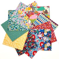 <!-- 001 -->Quilter's Pre-cut 42pc Charm Pack in Liberty's Carnaby Street Green