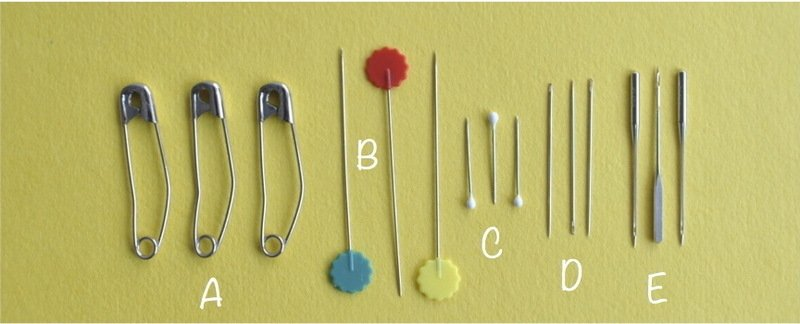 Pins on yellow 2