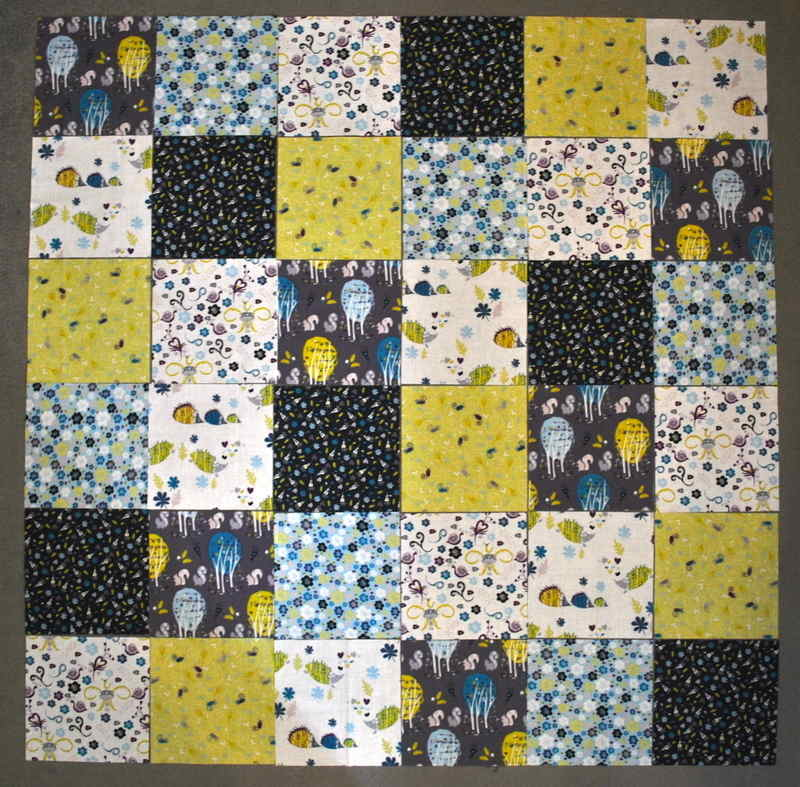 beginners quilt layout