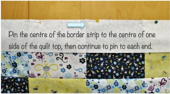 pinning border