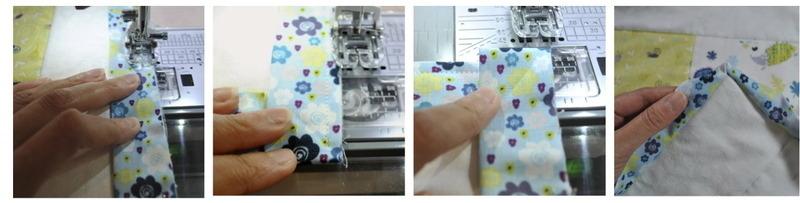 sewing mitre corner