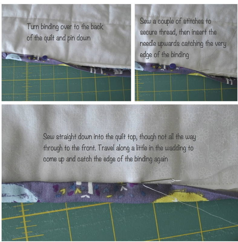 hand sewing binding