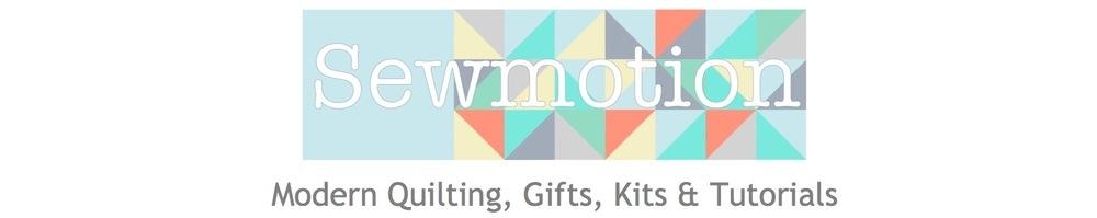 sewmotion, site logo.