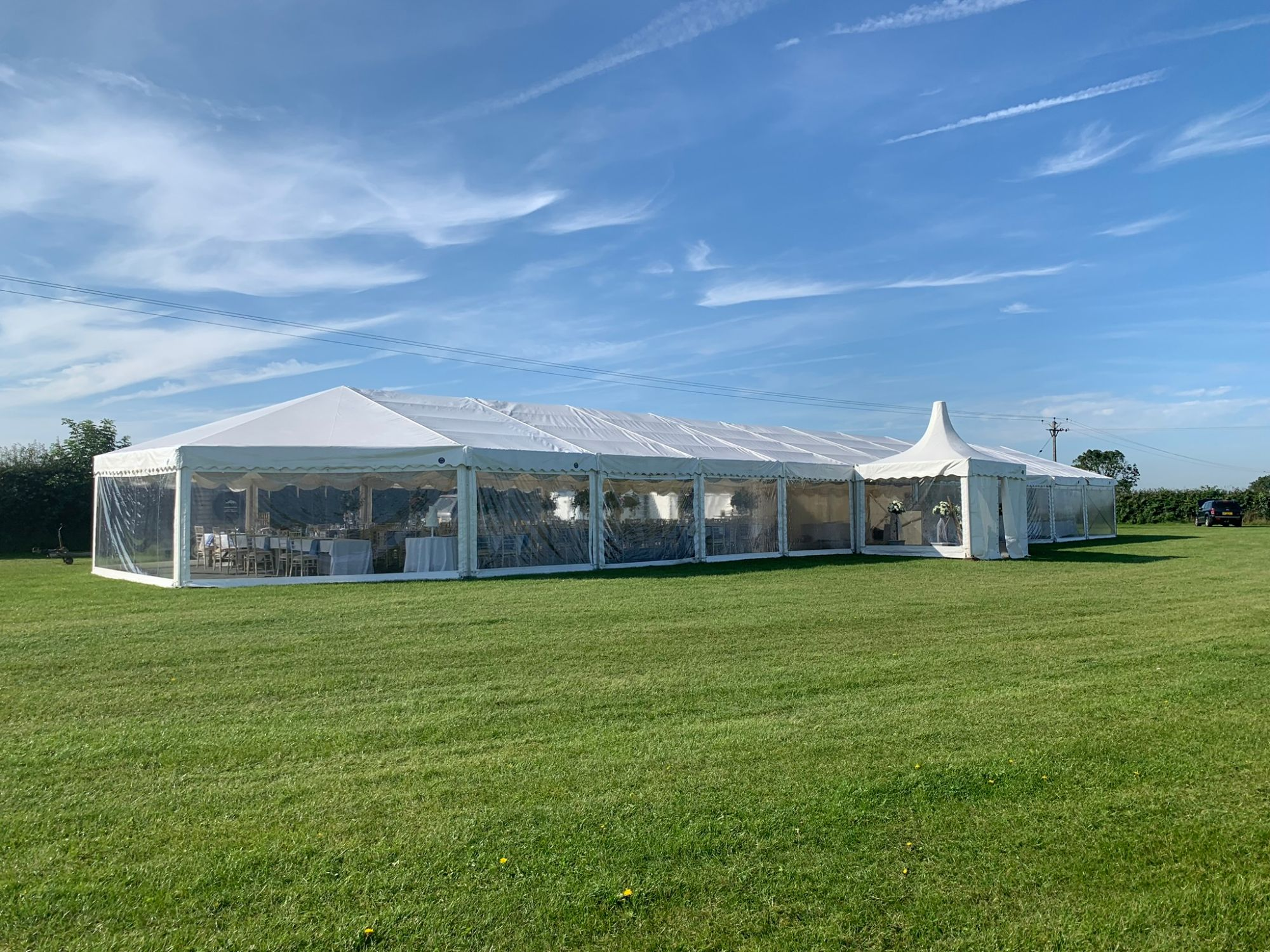 Hexagon Leisure Marquees