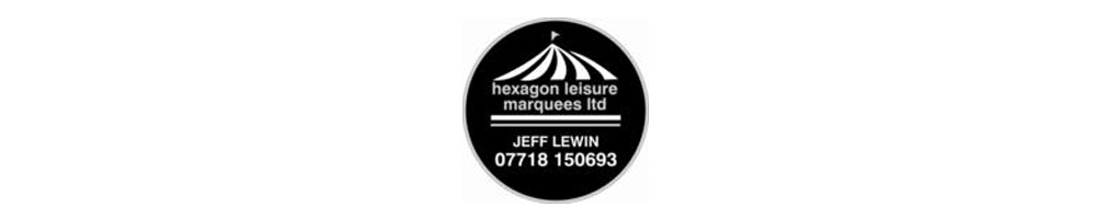Hexagon Leisure Marquees Ltd, site logo.
