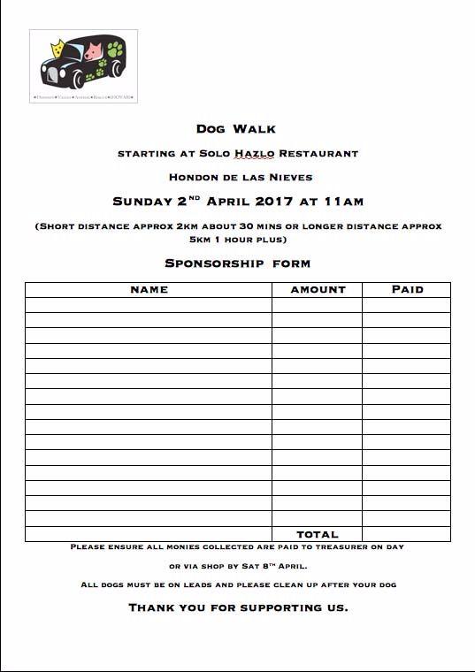 sponsor form 2017