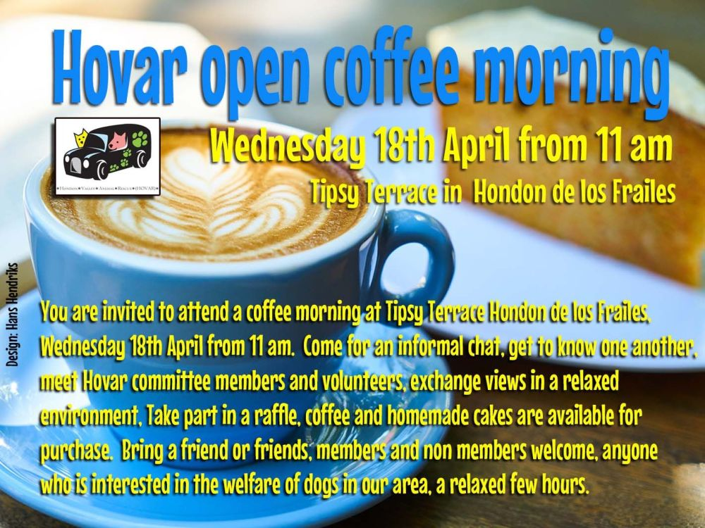 coffee morning Hovar 2018