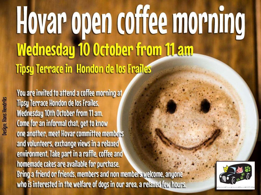 coffee morning Hovar 2018