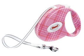 Flexi Fashion Medium Pink Dog Lead 5m 16ft