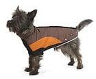 Ancol Muddy Paws Peak Superquilt Chocolate Orange Dog Coat All Sizes