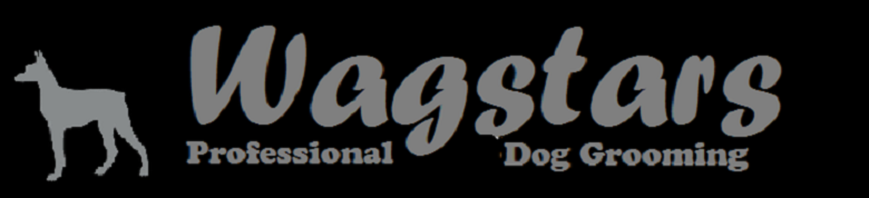 Wagstars Dog Grooming  , site logo.