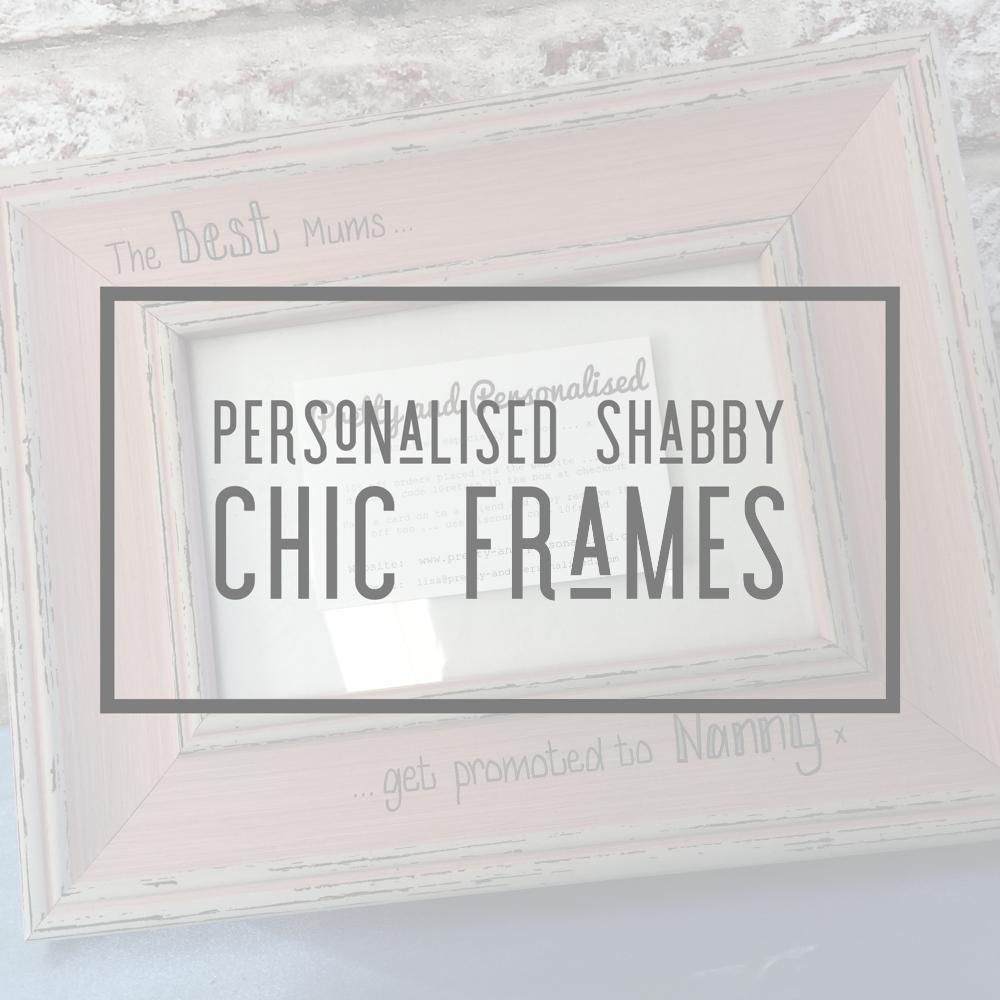 <!-- 004 -->Vintage Shabby Chic Photo Frames
