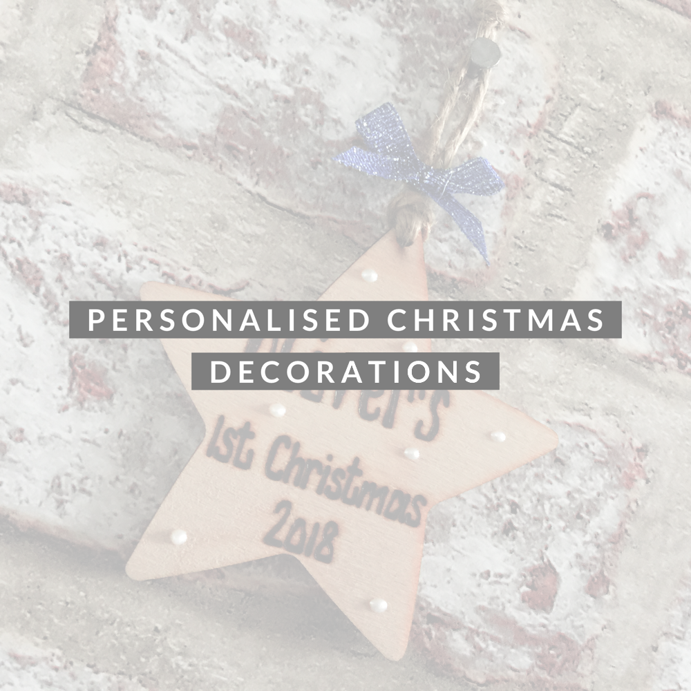 Personalised Christmas Plaques