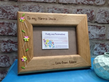 Grandma / Nan personalised photo frame