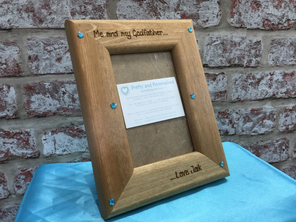 Personalised photo frame 'Me and My Daddy/Grandad'