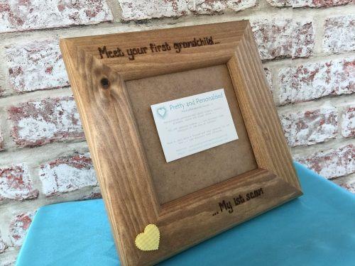 Grandparent baby scan frame