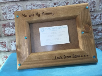 'Me and My Nanny / Auntie' personalised photo frame