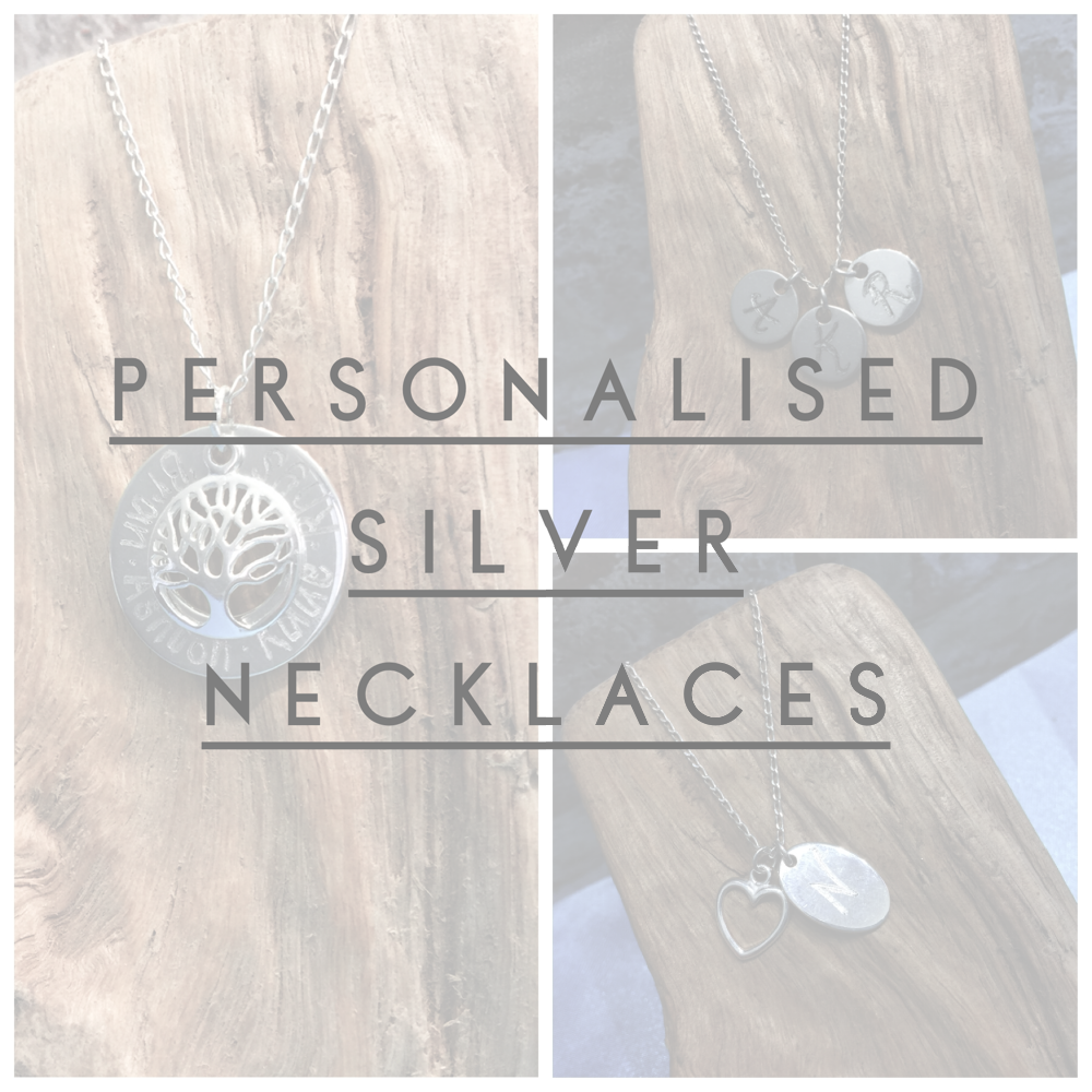 Personalised Silver Necklaces