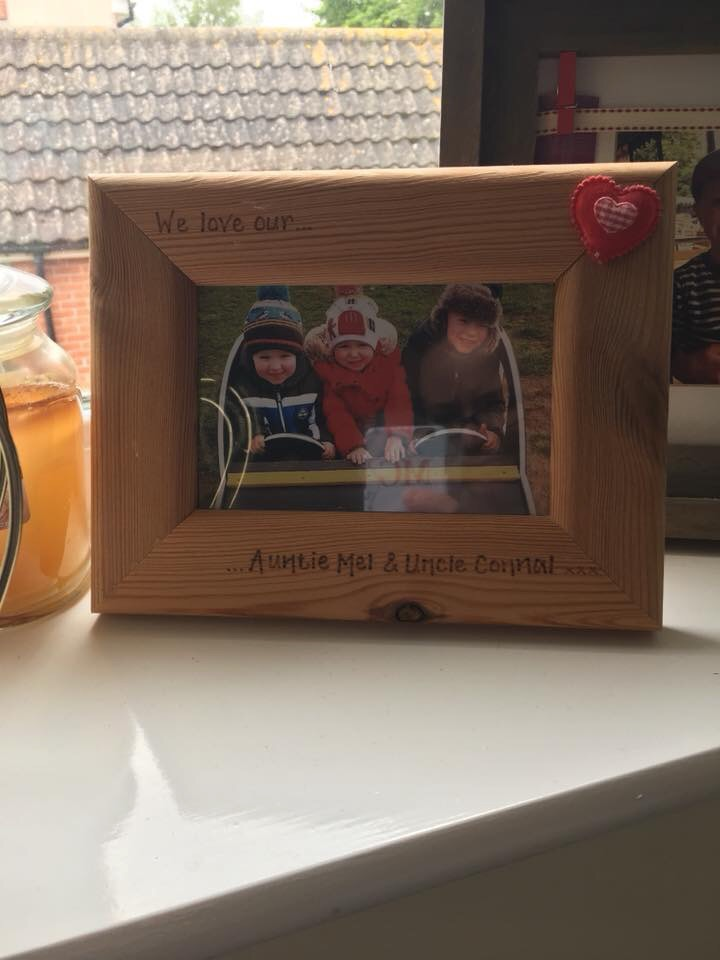 Personalised Auntie and Uncle Photo frame