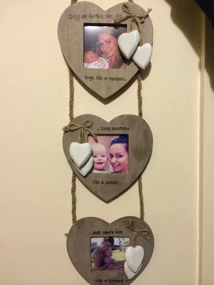 Triple hanging frame