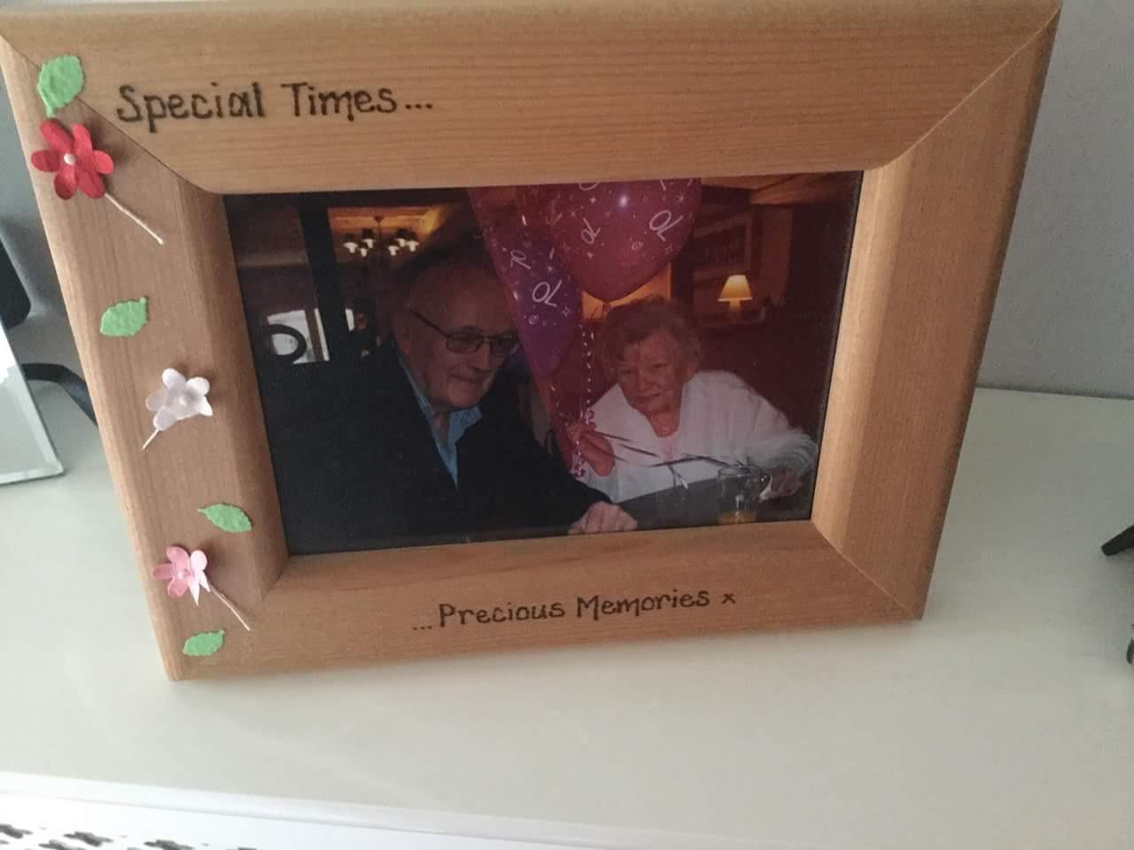 Special times precious memories photo frame