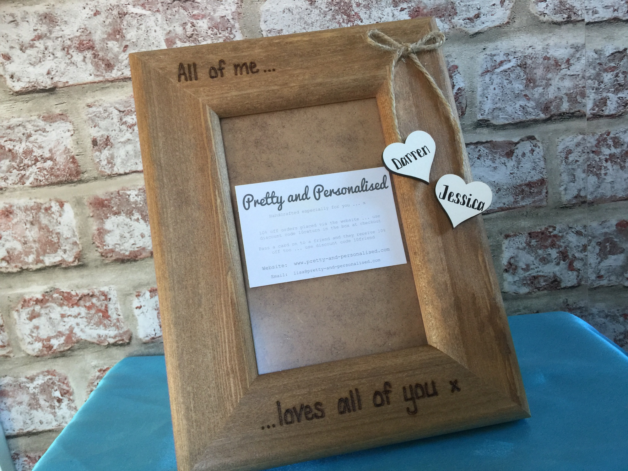 Home Pretty And Personalised Handcrafted Personalised Gifts