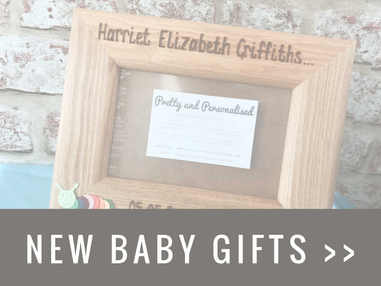 New Baby Personalised Gifts