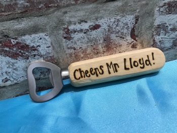 Personalised Wooden Beer Bottle Opener - Teacher