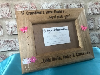 Personalised photo frame for Mum / Nan / Auntie