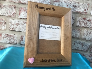 Personalised mum photo frame Mother's Day gift idea