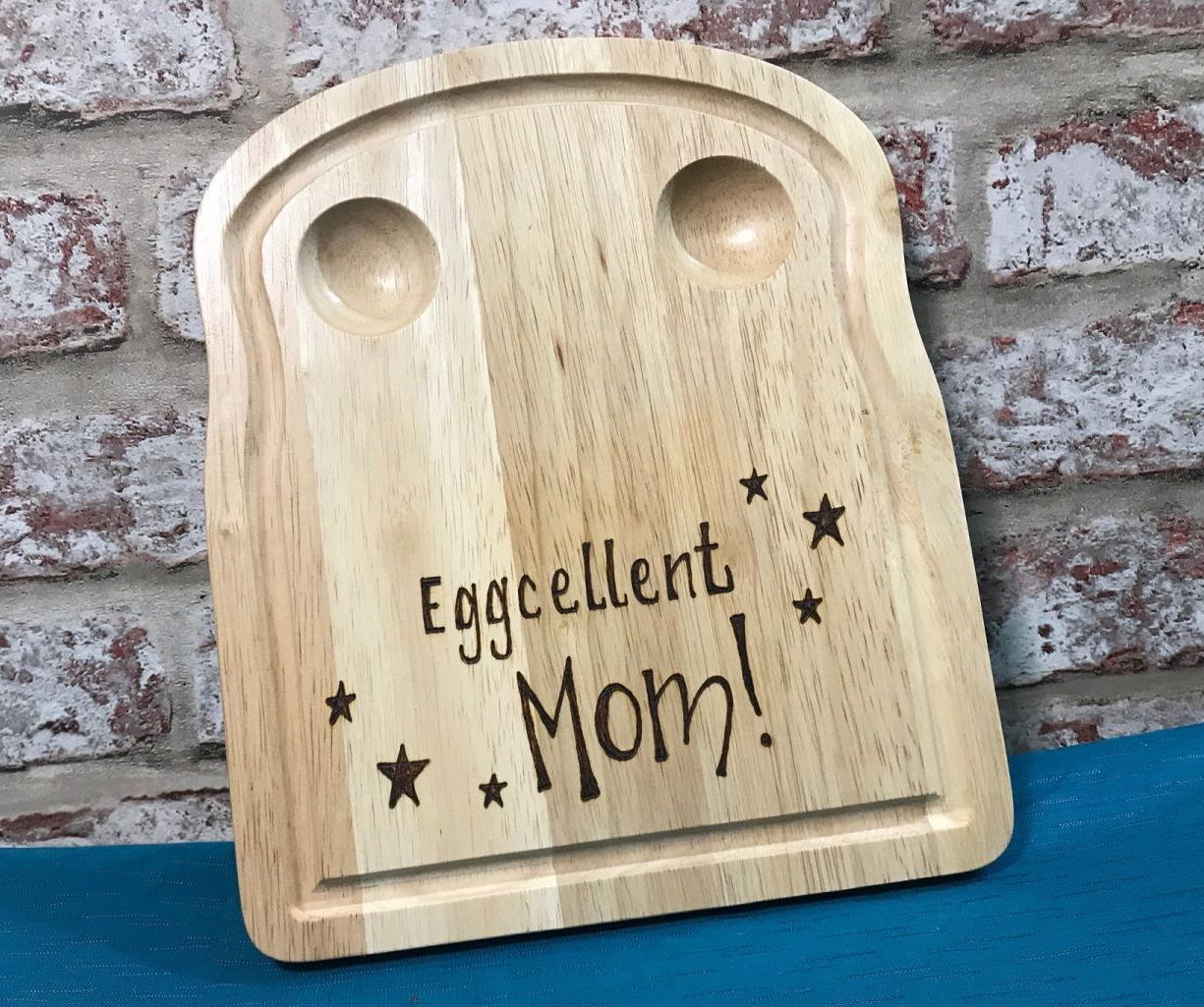 Personalised Egg Breakfast Board