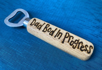Personalised Wooden Bottle Opener - For Him