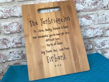 Design your own personalised wooden chopping board