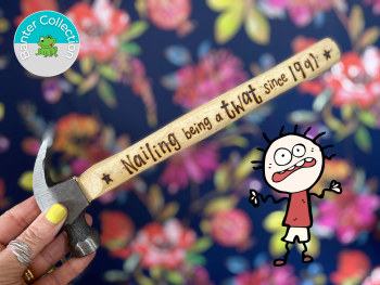 Banter Hammer   Personalised Funny Birthday Gift