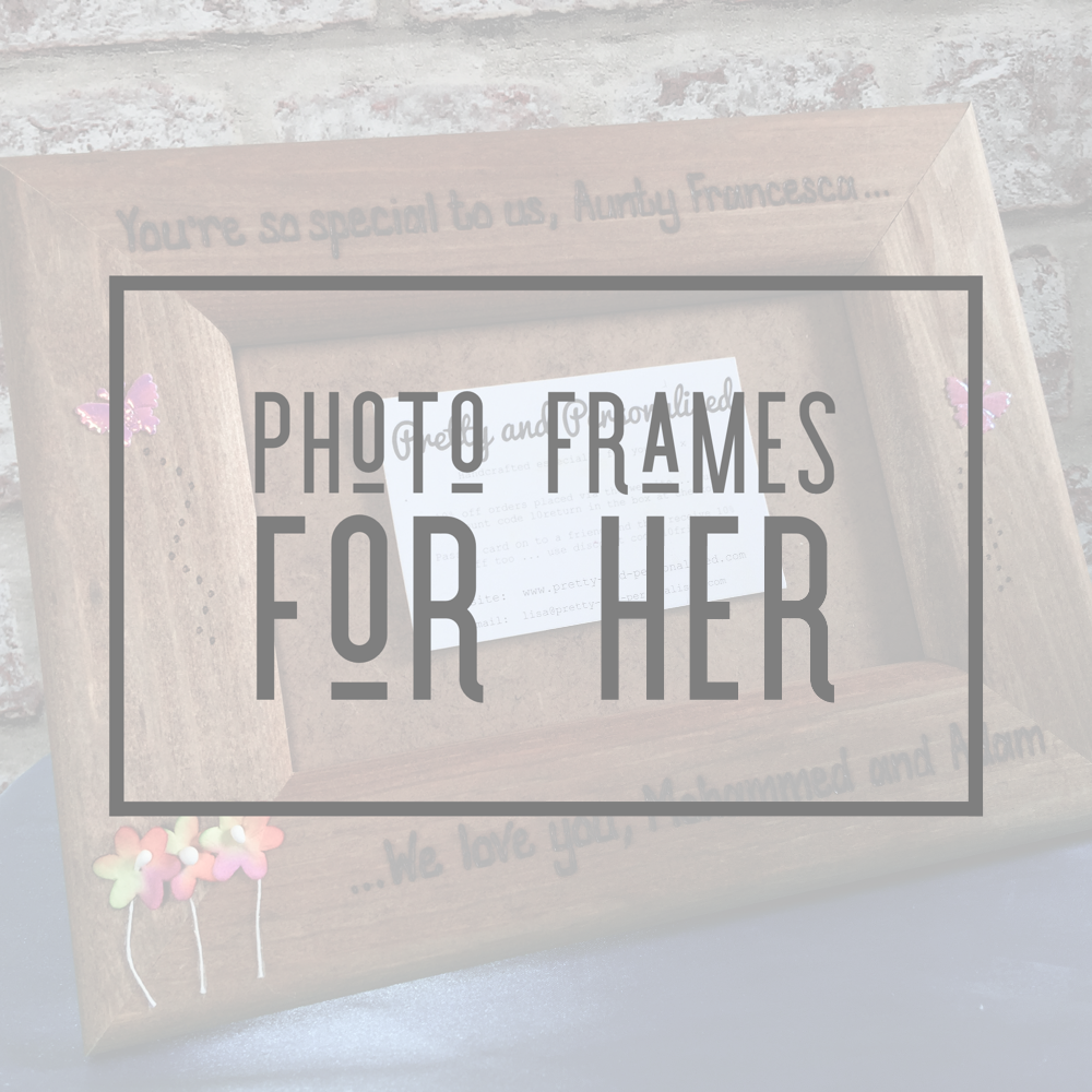 <!-- 007 -->Photo Frames For Her