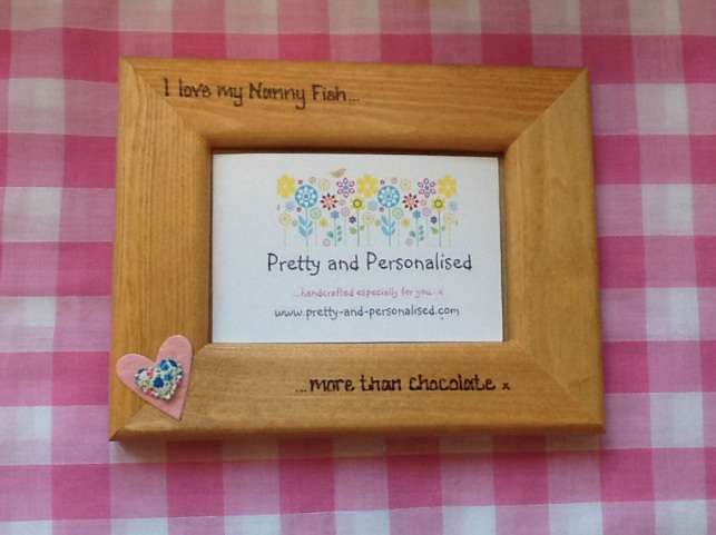 Design your own personalised photo frame