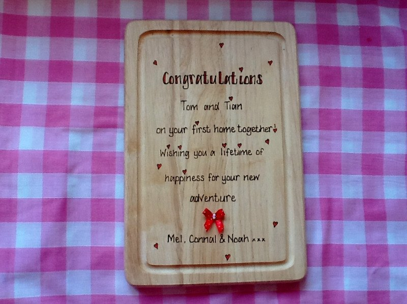 Design your own personalised chopping board