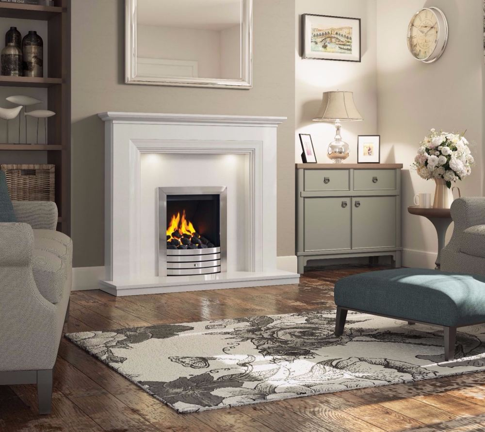 odella surround with balanced flue gas