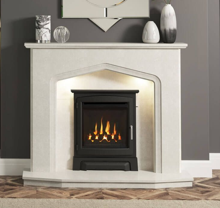 Aurelia-with-Utopia-and-Cast-Stove-trim-five-sided-hearth