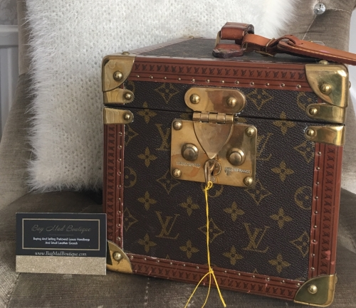 Louis Vuitton Monogram 1980s Boite Flacons Vanity Case