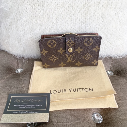Louis Vuitton Monogram Tri Fold Wallet