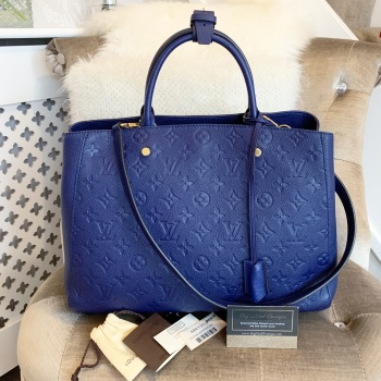 Louis Vuitton Iris Empreinte Montaigne GM