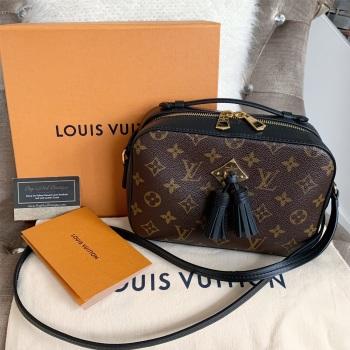 Louis Vuitton Monogram And Noir Saintonge