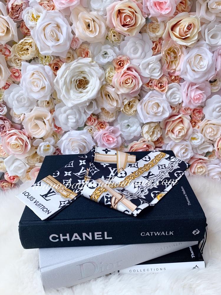 Louis Vuitton Black Confidential Bandeau