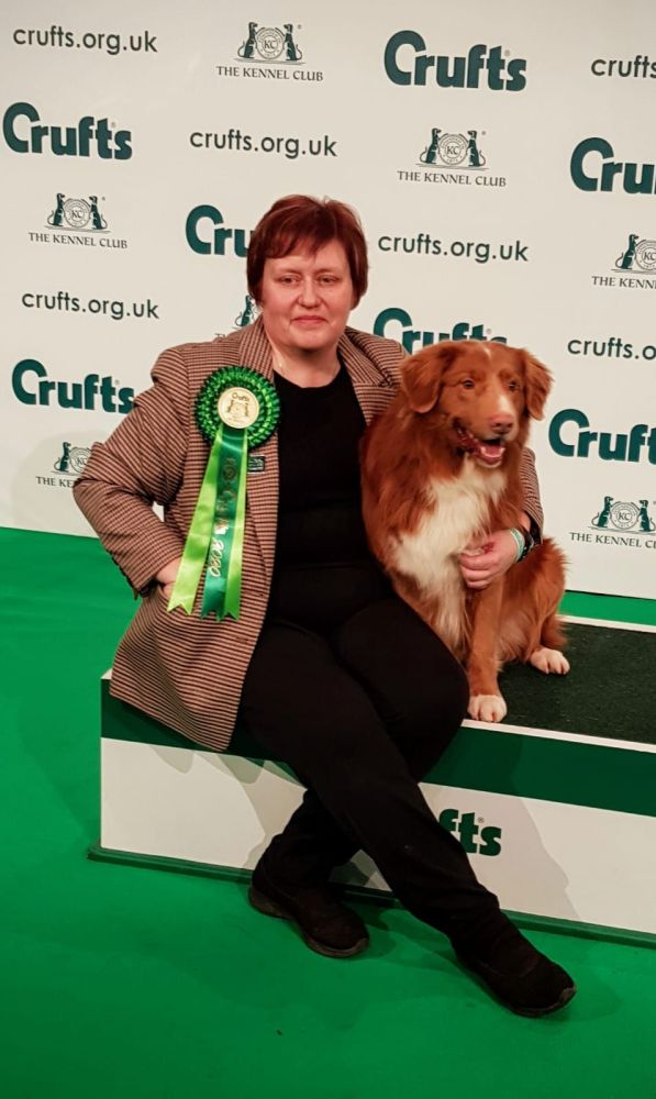 2020 Crufts Kyro and I