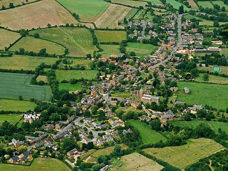 General View Lyddington