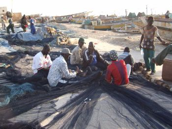 fishermen in Nouakchott