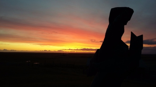 Sunset at Oddi